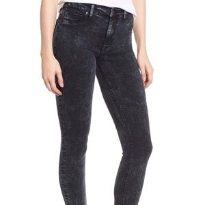 Hudson High Waist Barbara Super Skinny Ankle Jeans